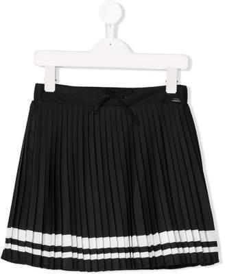Karl Lagerfeld pleated drawstring skirt