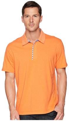 Robert Graham Diego Short Sleeve Knit Polo Men's Short Sleeve Pullover