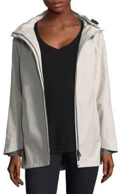 Herno Three-Ply Goretex A-Line Hi-Lo Jacket