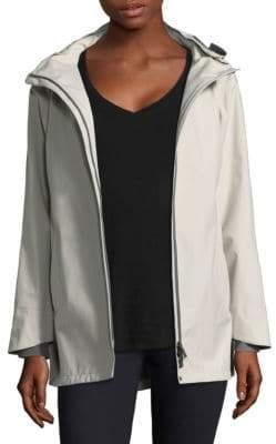 Herno (ヘルノ) - Herno Three-Ply Goretex A-Line Hi-Lo Jacket