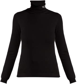 Valentino VLTN roll-neck top