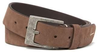 Robert Graham Warner Luxurious Suede Strap Belt