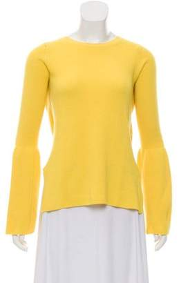 Stella McCartney Virgin Wool Rib Knit Sweater