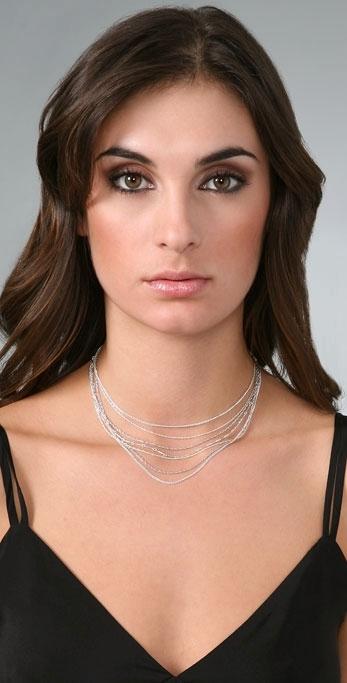 Jennifer Zeuner Multi Strand Necklace