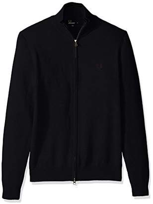 Fred Perry Men's Classic Cotton Zip Cardigan