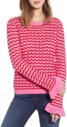 Endless Rose Ruffle Cuff Sweater
