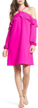 Lilly Pulitzer R) Abrielle Ruffle A-Line Dress
