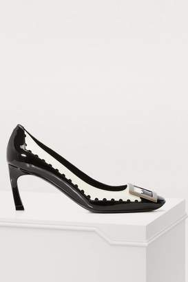 Roger Vivier Trompette Graphic perforated pumps