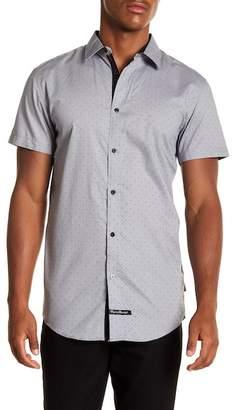 English Laundry Geo Woven Regular Fit Shirt