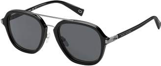 Marc Jacobs Sunglasses Marc 172/S 0284 Black Ruthenium/IR gray blue lens