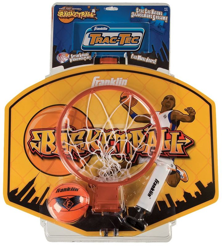Franklin trac-tec breakaway basketball hoop