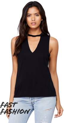 B.ella + Canvas Women's Flowy Cut-Neck Tank