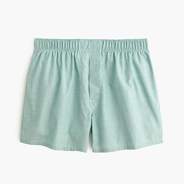 J.Crew Solid end-on-end boxers