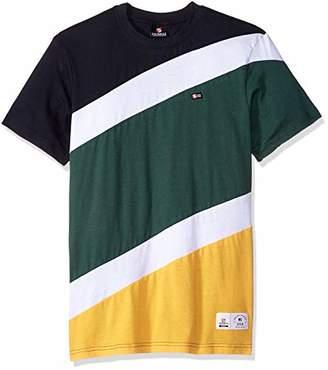 Southpole Men's Colorblock Short Sleeve Fashion Tee