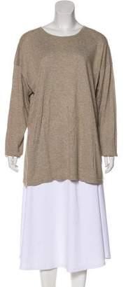 eskandar Jersey Long Sleeve Top