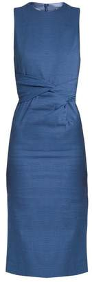 Sportmax Brunico Dress - Womens - Blue