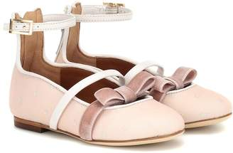 Malone Souliers Minismalls Monica Smalls ballet flats