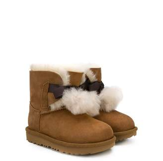 UGG pompom shearing boots
