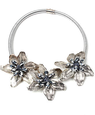 Amrita Singh Noir Rose Necklace