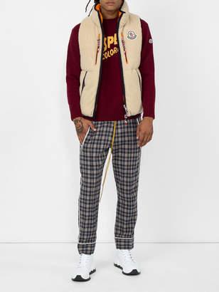 Moncler Genius 2 1952 auron reversible sleeveless jacket