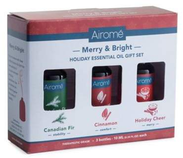 Bed Bath & Beyond Merry & Bright 100% Pure 10 ml. Essential Oils Gift Set
