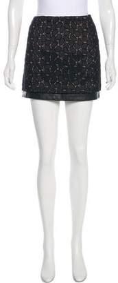 Diane von Furstenberg Lace Mini Skirt w/ Tags