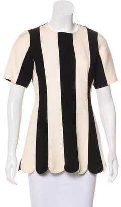 Marc Jacobs Wool Striped Tunic