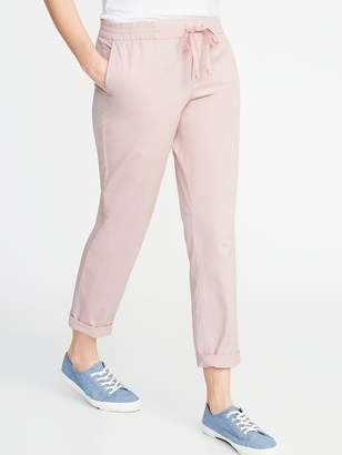 Old Navy Mid-Rise Pull-On Anytime Chinos for Women