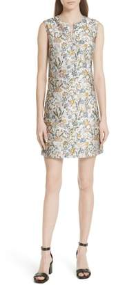 Tory Burch Abigail Sleeveless Shift Dress