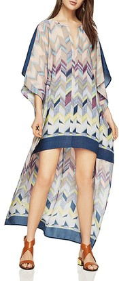 BCBGMAXAZRIA Cristen Printed High/Low Dress $248 thestylecure.com