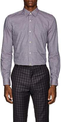 Paul Smith Men's Kensington Gingham Cotton Plain-Weave Shirt
