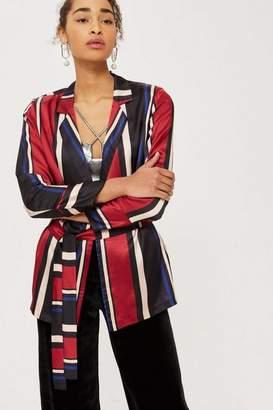 Y.a.s **soft striped blazer