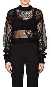 Helmut Lang Women's Patchwork Sweater - Blk