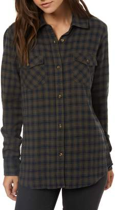 O'Neill Jordie Plaid Shirt