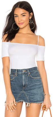 Enza Costa Jersey Strappy Off Shoulder Top
