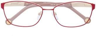 Carolina Herrera Ch rectangular glasses