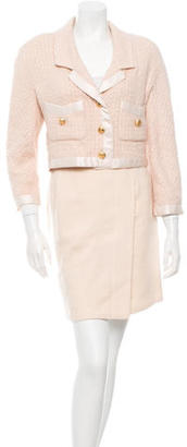 Chanel Tweed Wool Skirt Suit $425 thestylecure.com