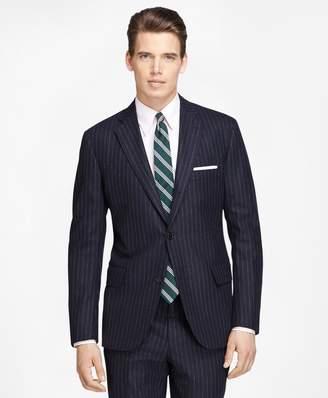 Brooks Brothers Own Make Chalk Stripe Suit