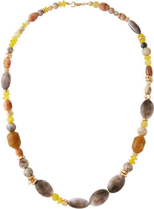 "Lydell NYC Long Single-Strand Bead Necklace, 32""L"