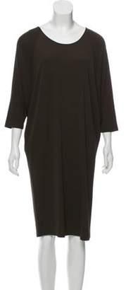 Michael Kors Dolman Sleeve Midi Dress Brown Dolman Sleeve Midi Dress