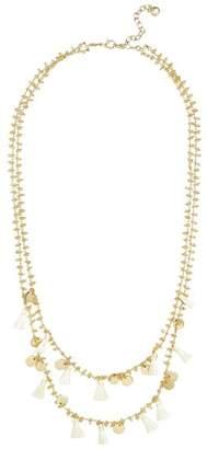 """BaubleBar Kirana Layered Tassel Necklace, 25"""""""