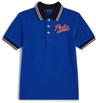 Ralph Lauren Contast Collar Logo Polo Shirt