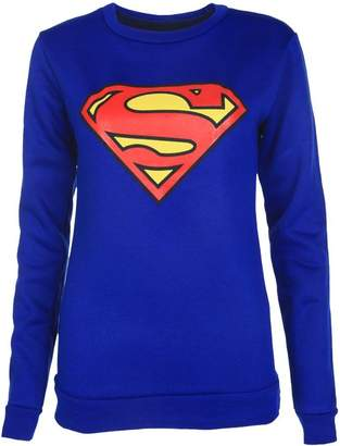 VIP Womens Superman Sweater (10/12 (12/14))