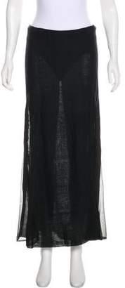 Ralph Lauren Linen Midi Skirt
