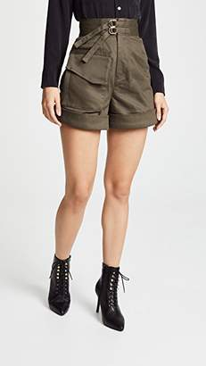 Self-Portrait Self Portrait Twill Shorts