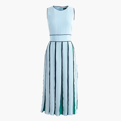 J.CrewCollection pleated silk dress