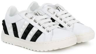 Philipp Plein Junior stud detail sneakers