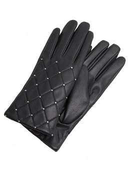 MANGO Studded gloves