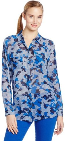 Vince Camuto Two by Women's Epaulette Utility Tunic
