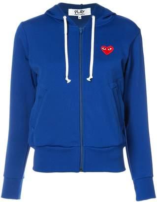 Comme des Garcons zip up hoodie